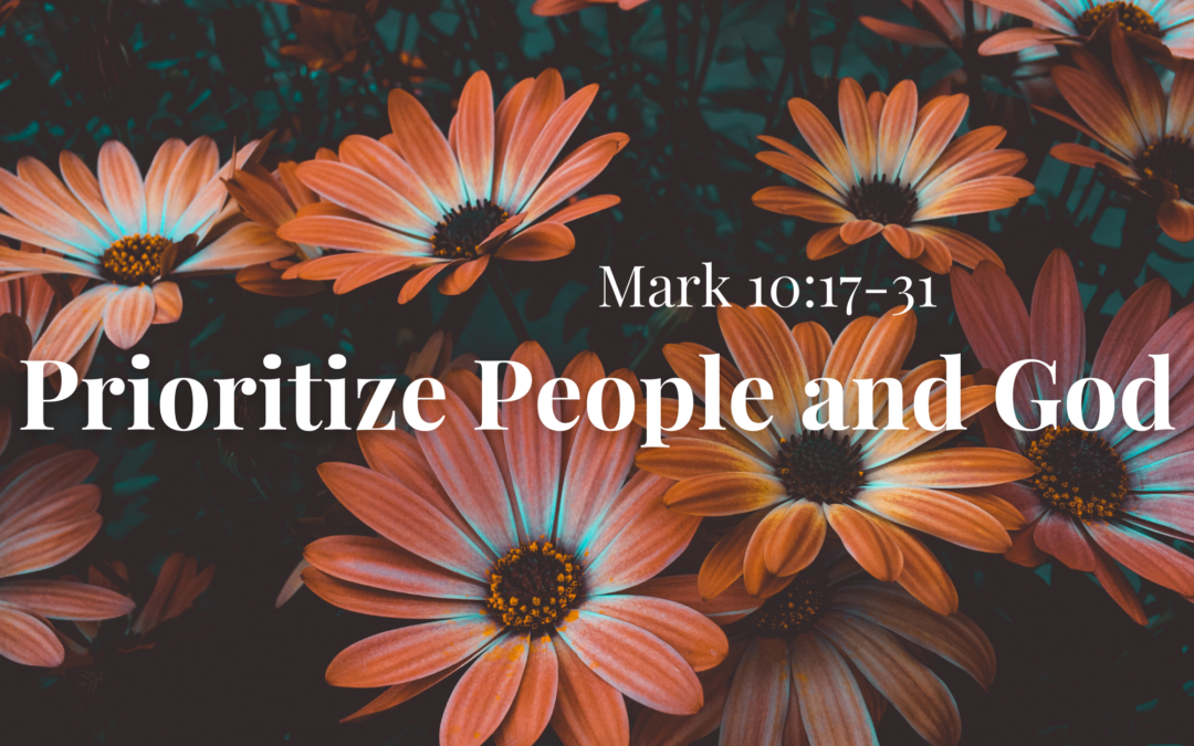 Prioritize People and God 10.10.21